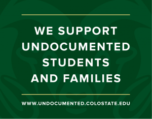 We support undocumented students and families